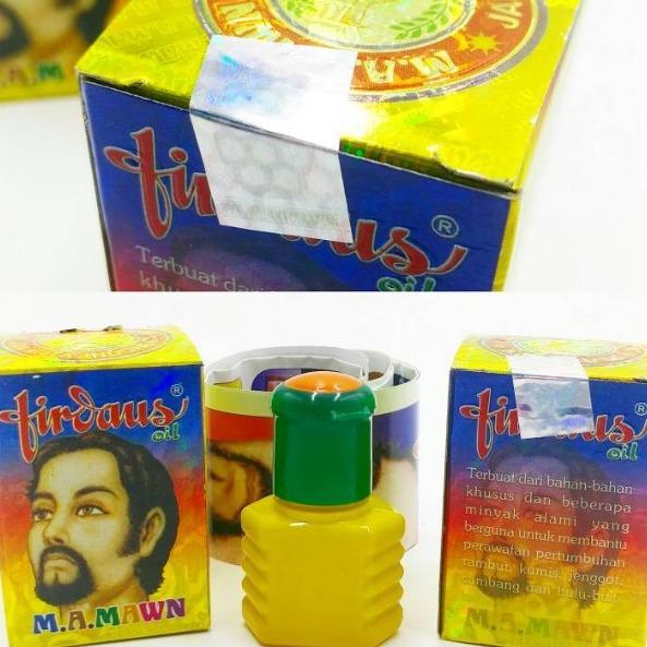 MA Mawn Firdaus - Oil Penumbuh Rambut Jenggot Kumis & Jambang - 20 mL