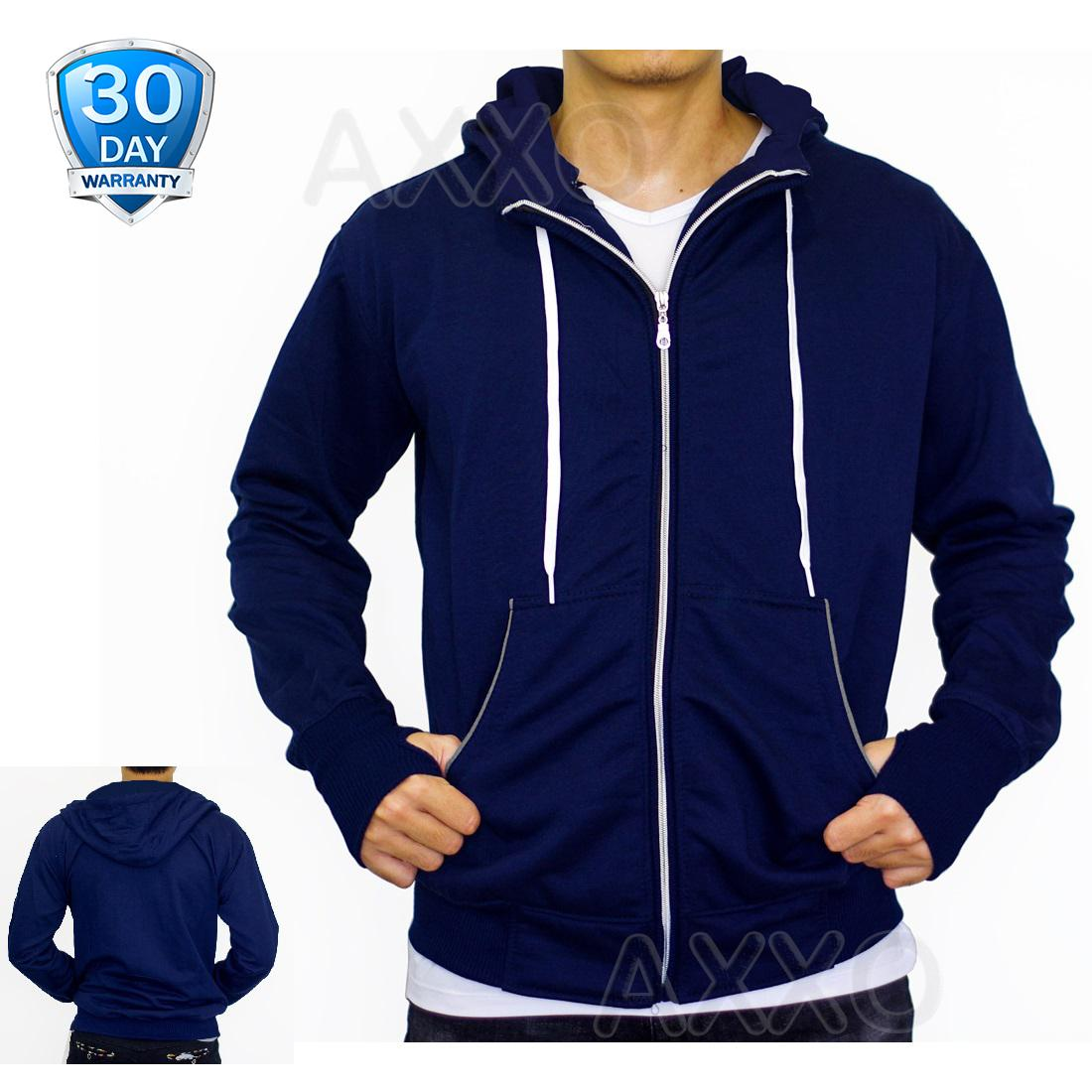Jaket Sweater Hoodie Polos Switer Lubang Jempol Model Ariel Jaket Model Korea Pria Mens Jacket Windproof
