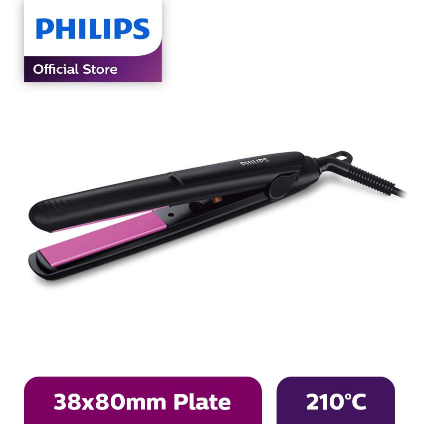 Philips HP8302/00 Selfie Straightener - Hitam