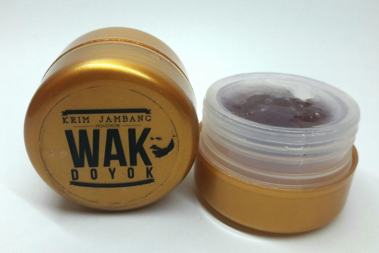 Jual Produk Wak Doyok Orginal 75 Ml Krim Jambang Jenggot Kumis Rambut Alis Cream 100 Original Untuk Dan