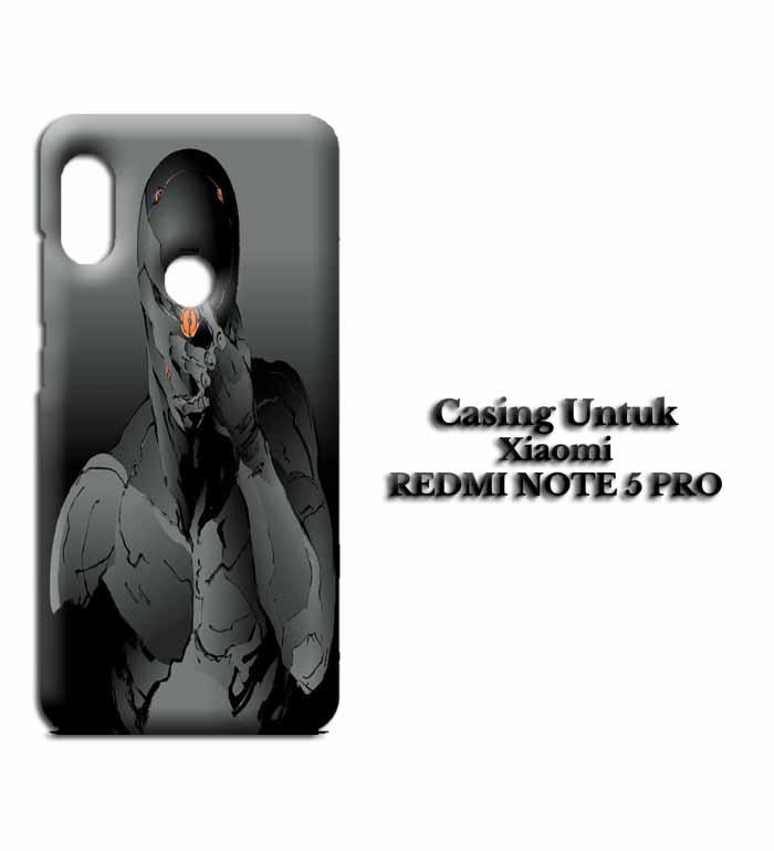 Casing XIAOMI REDMI NOTE 5 PRO Metal Gear Hardcase Custom Case Snitchshop