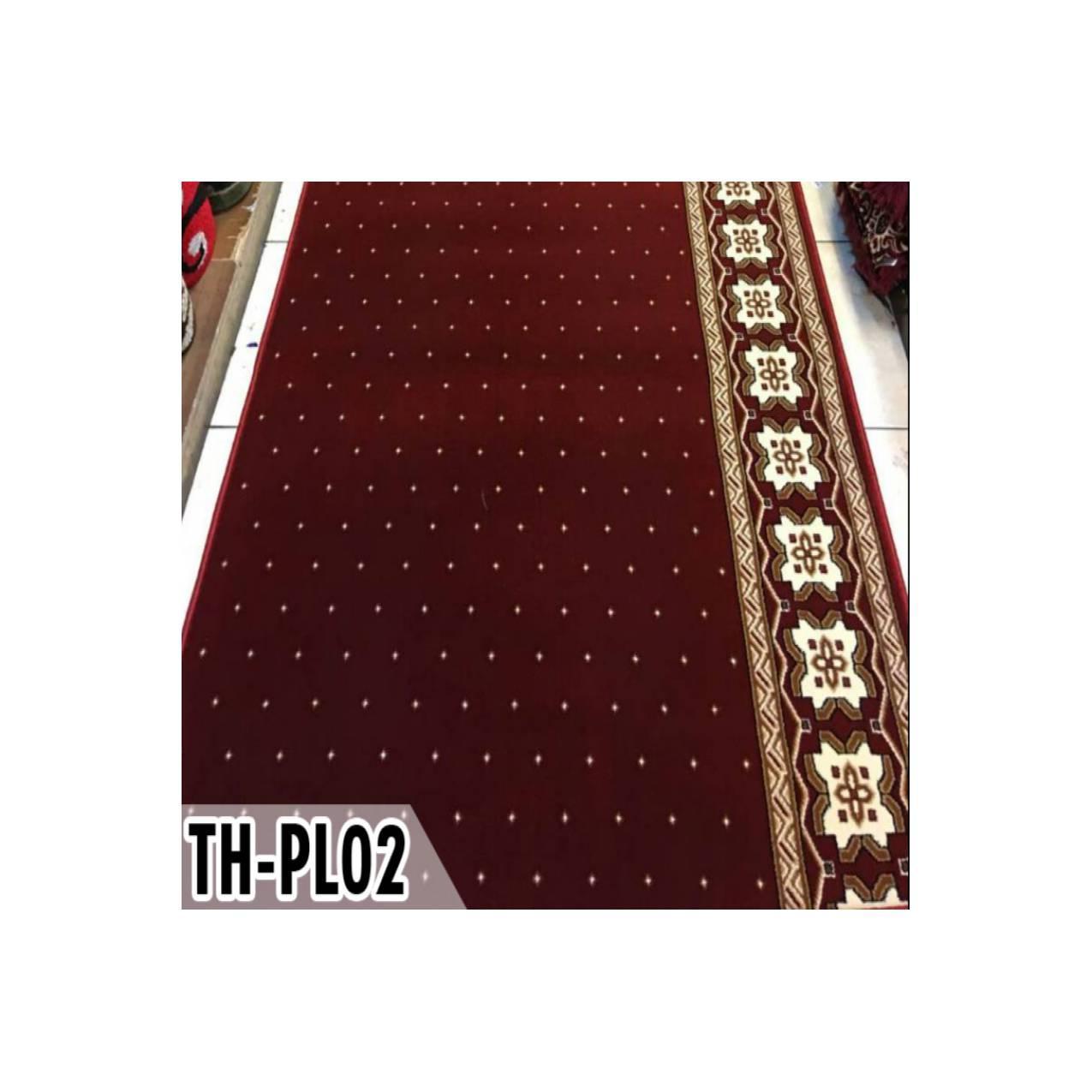 karpet masjid motif meteran warna merah PLATINUM MOSQUE