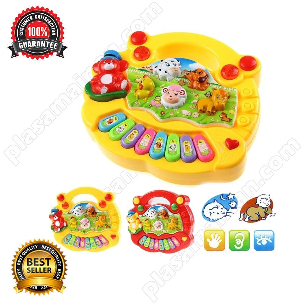 MOMO Toys Animal Farm Piano Yellow