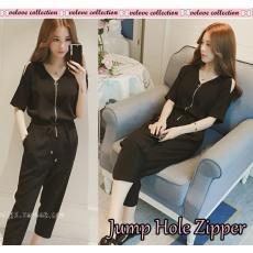 Jump hole zipper  fashion wanita  muslim  fashion muslim  atasan wanita   kemeja 9f970db98f