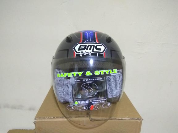 VIRAL Helm BMC avenger 2 millan half face