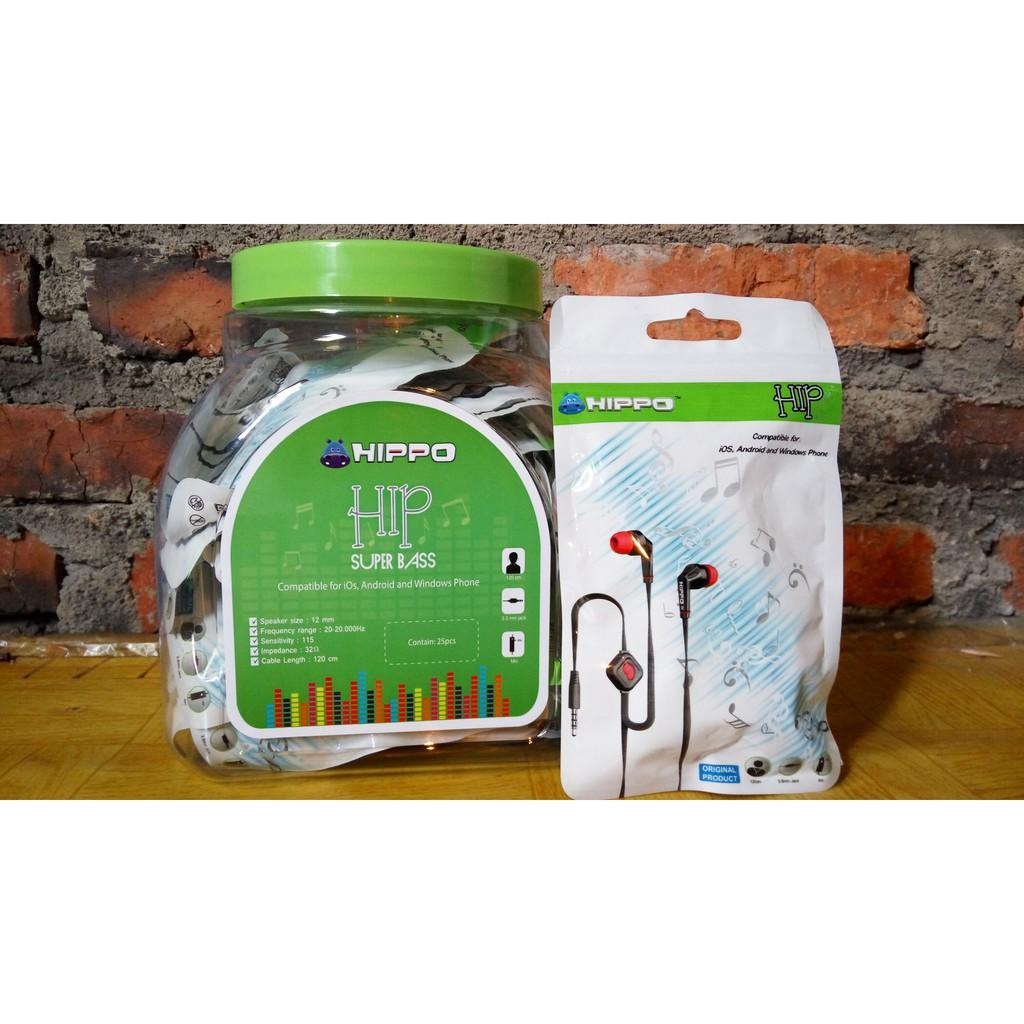 [ GRATIS ONGKIR ] Handsfree Hippo HIP Original #FJ031 @ SEDIA: headset headphone handsfree bluetooth gaming wireless xiaomi samsung sony iphone sony untuk hp oppo stereo