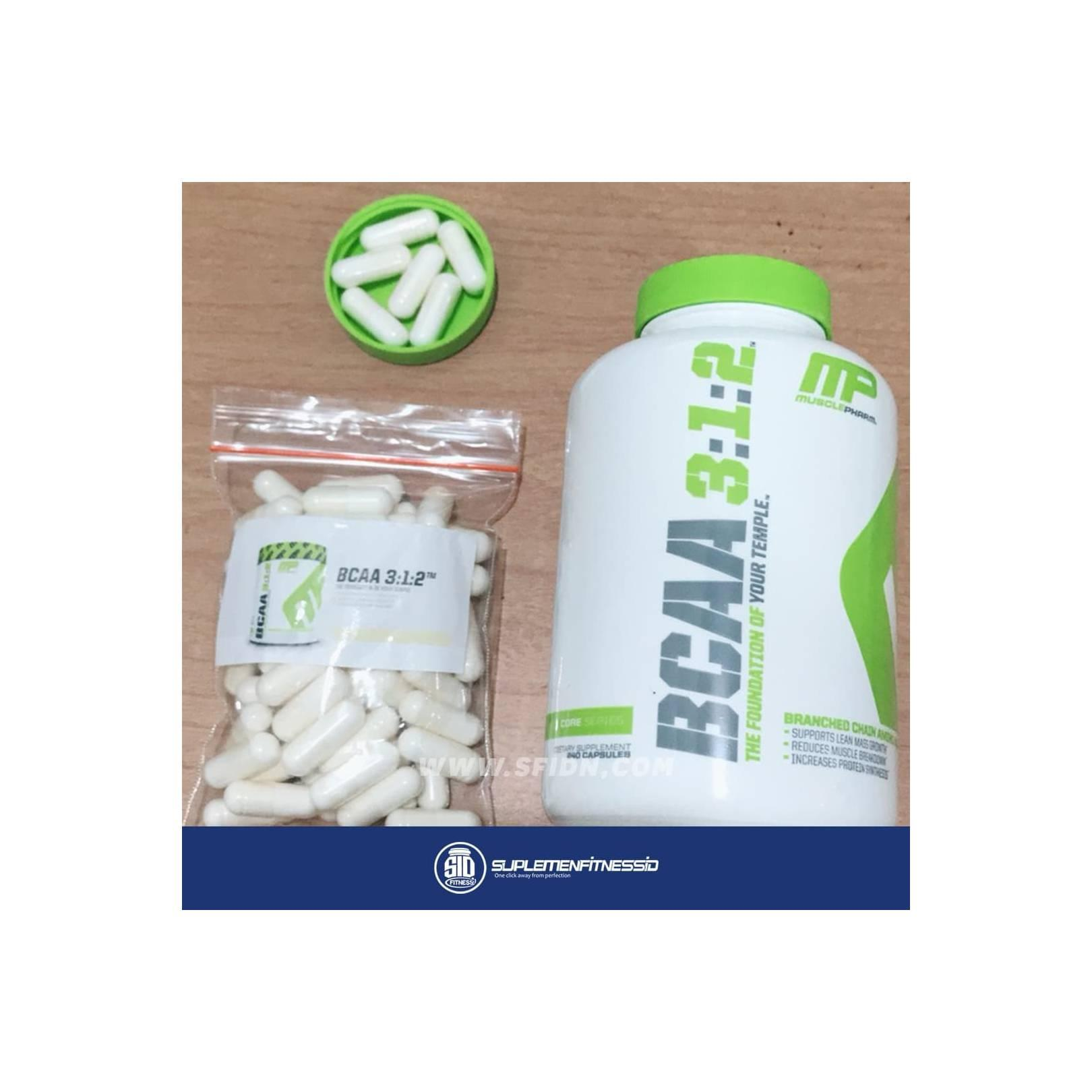 CAPS Suplemenstore com Source · Musclepharm bcaa MP Bcaa 100 Tabs Eceran Repack .