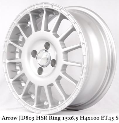 Velg Mobil Murah ARROW JD803 HSR Ring 15 ( Wheelskingdom )
