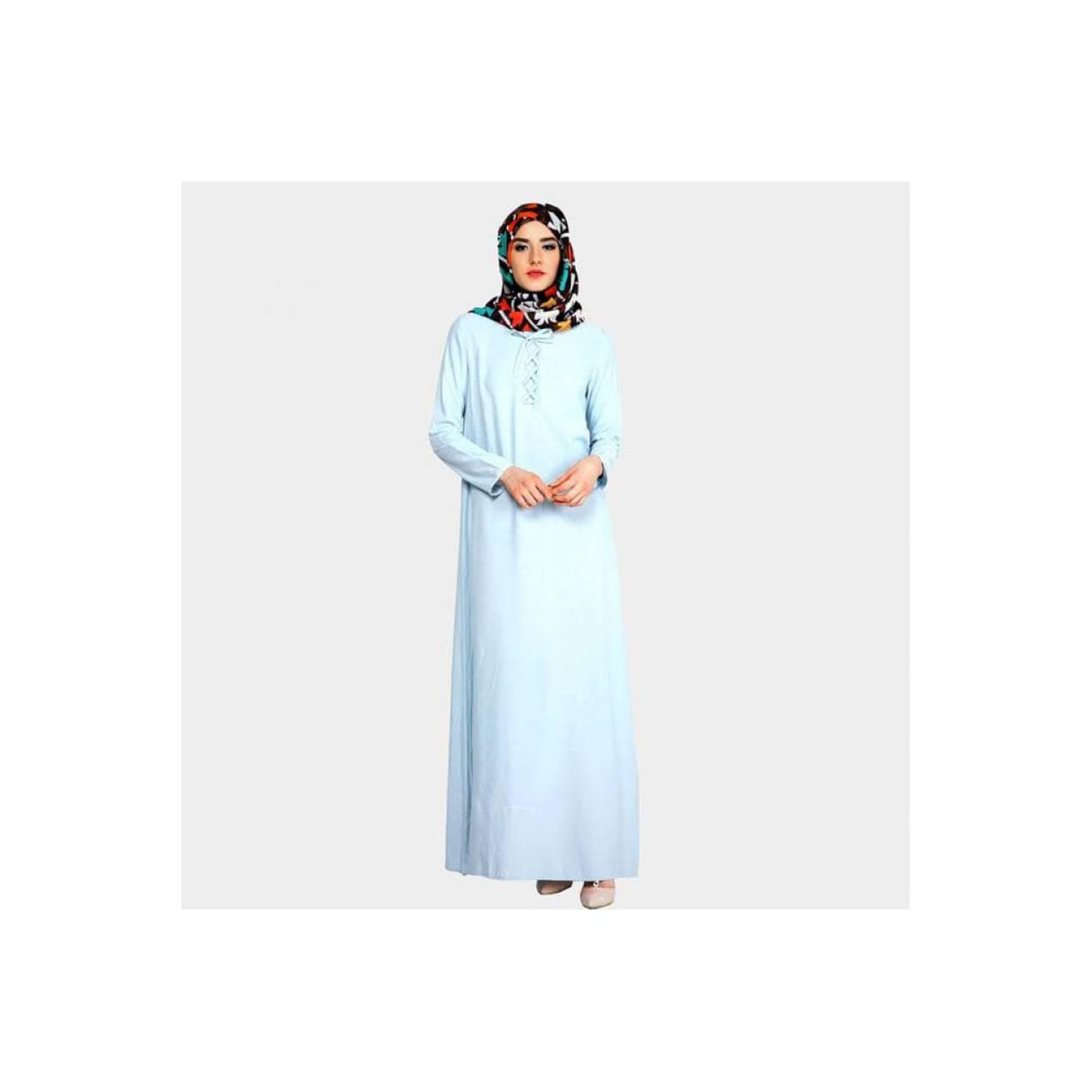 Mezora Dress Gamis Muslimah Cantik - Mufia Knot Dress