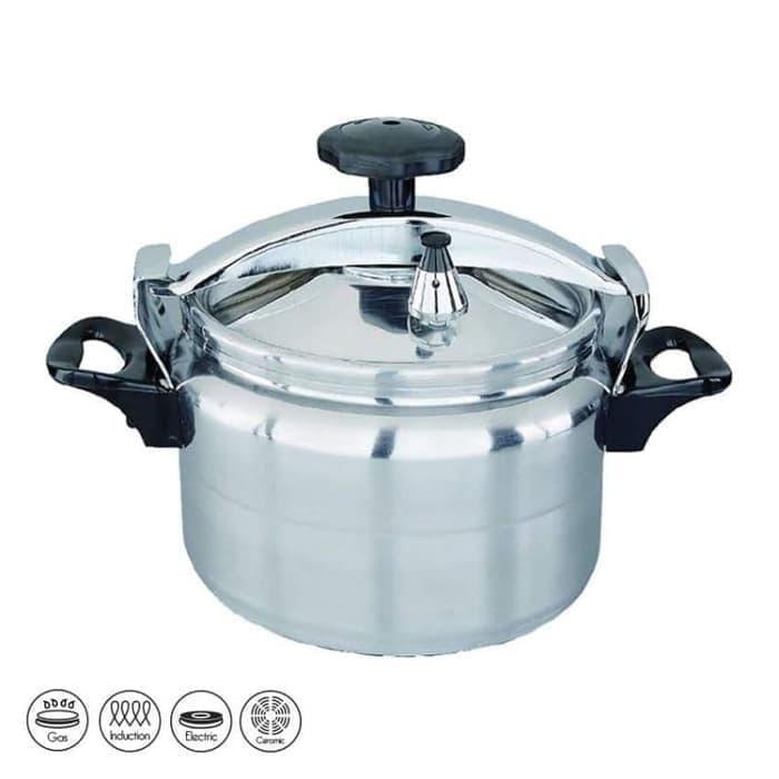 PROMO  Idealife IL-707 Panci Presto 7 Liter, Panci Kukus Daging, Panci Tutup