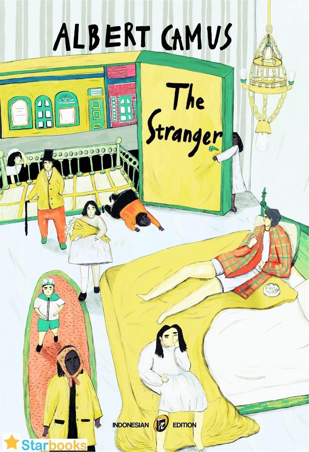 NOVEL THE STRANGER - ALBERT CAMUS