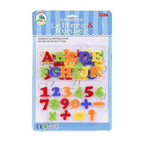 BB Mart Magnetic Letters & Number Mainan Angka dan Huruf Magnetik Anak