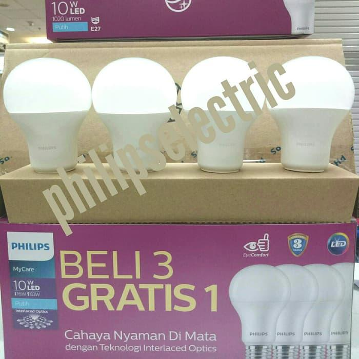 LAMPU LED PHILIPS 10.5 WATT 10,5 WATT 10.5WATT 10,5WATT PAKET 4 PCS