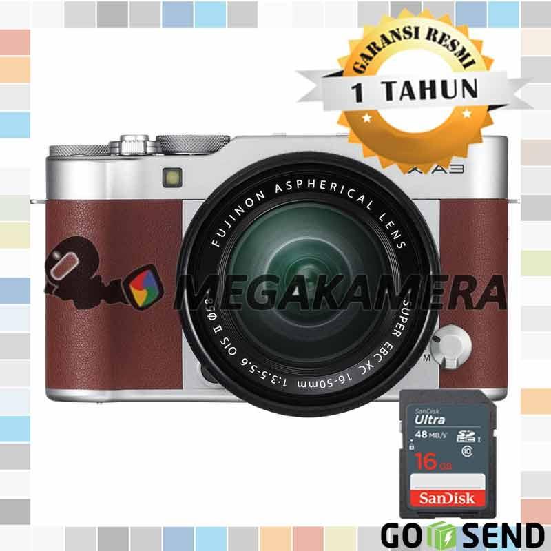Fujifilm X-A3 Kit 16-50mm F3.5-5.6 OIS II Mirrorless Camera Brown