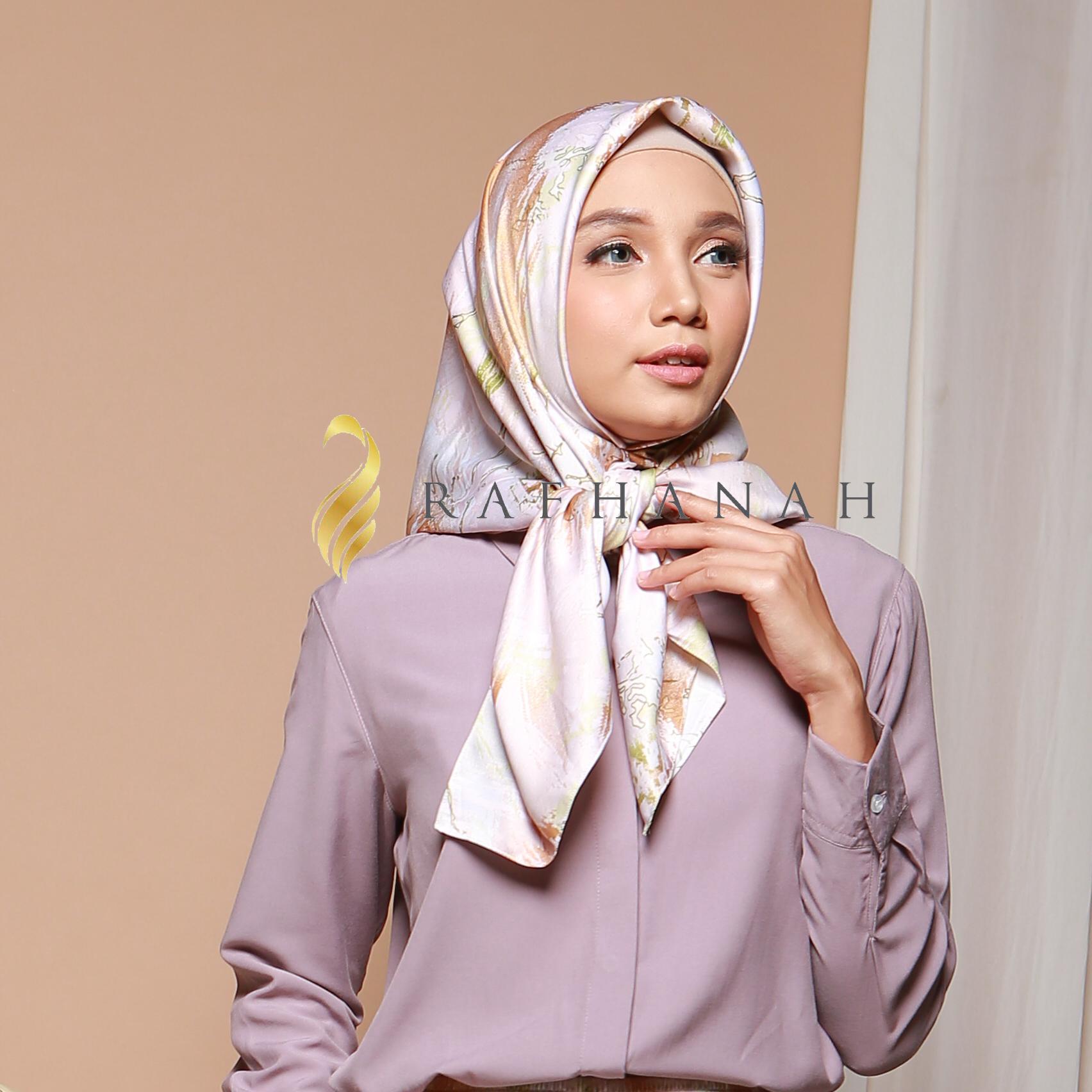 Rafhanah store | Rafhanah Nervo Scraf Cream | Hijab Scraf (krim)