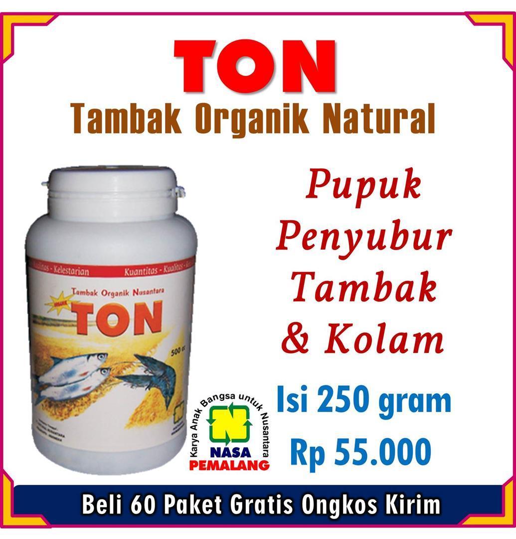 Ton Formula Alami Organik Khusus Tambak Dan Kolam Perikanan By Nasa Pemalang Grup.