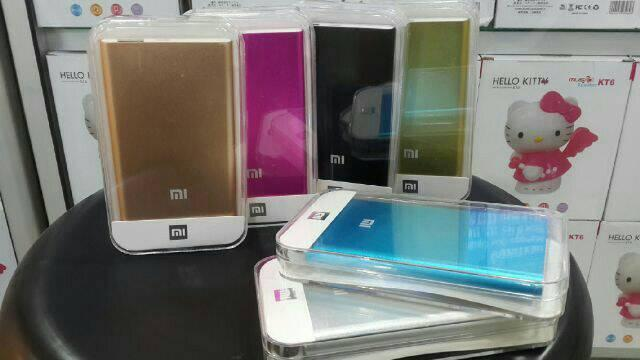 MURAH...!!!! Universal _Power Bank Slim LED Xiaomi _188.000 mAh  ( RANDOM )