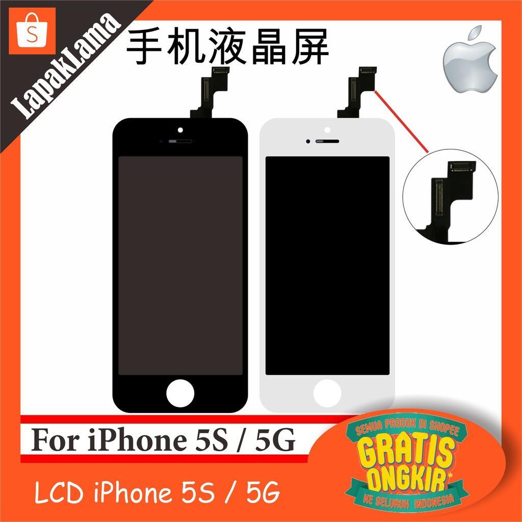 Sparepart Lcd + Touchscreen For Iphone 5S / 5G Fullset Original Aa+