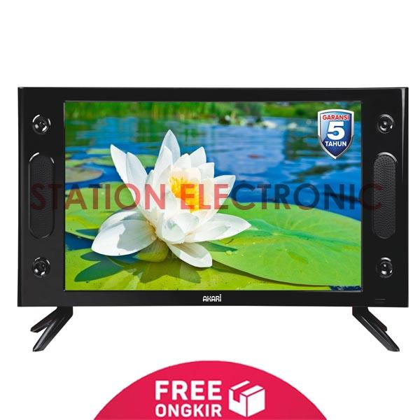 AKARI HD Ready LED TV w/ USB Movie 25 - LE-25V89 - Khusus JABODETABEK