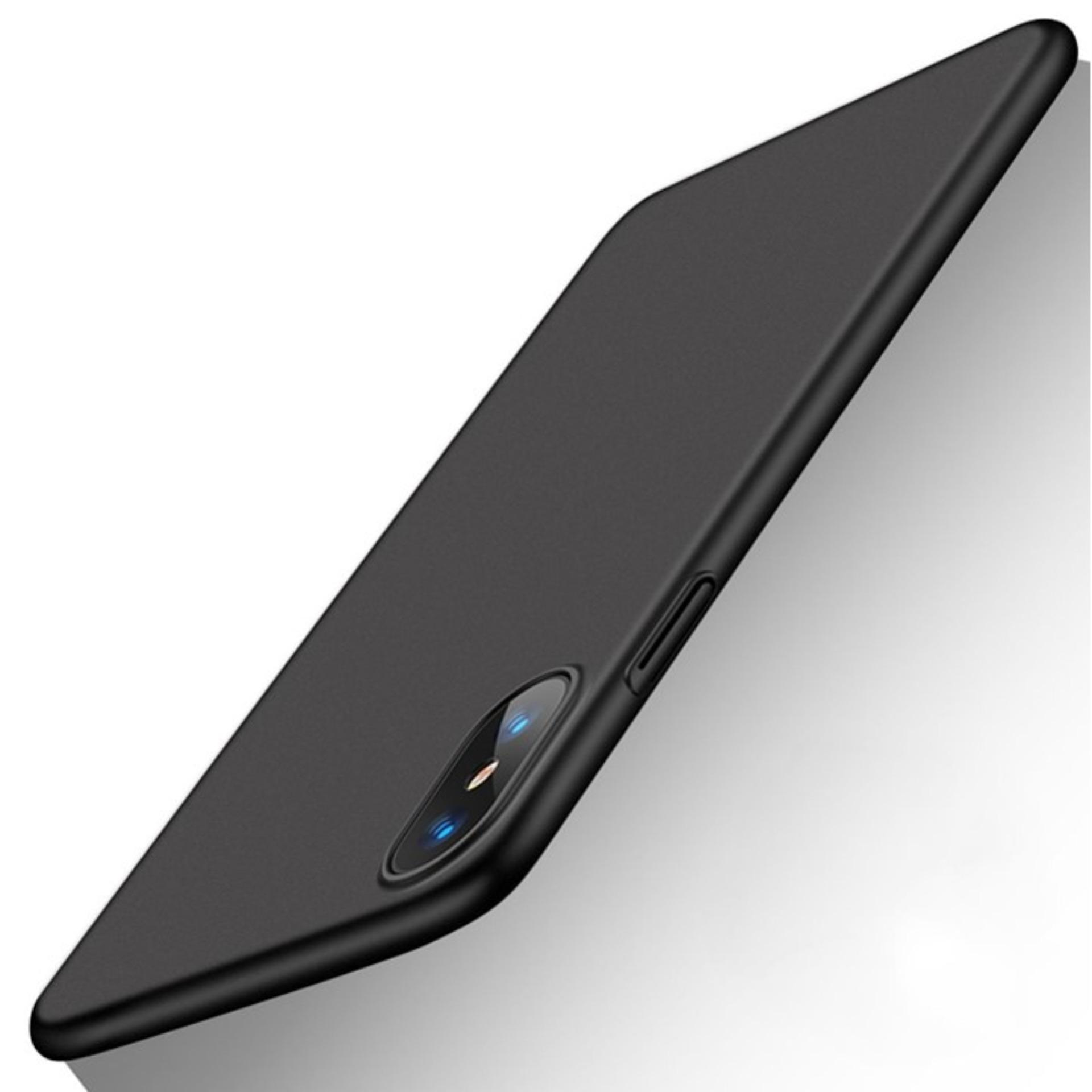 Case Ultra Thin Soft TPU Black Silicone Matte Frosted Anti-fingerprint Back Cover For Iphone X
