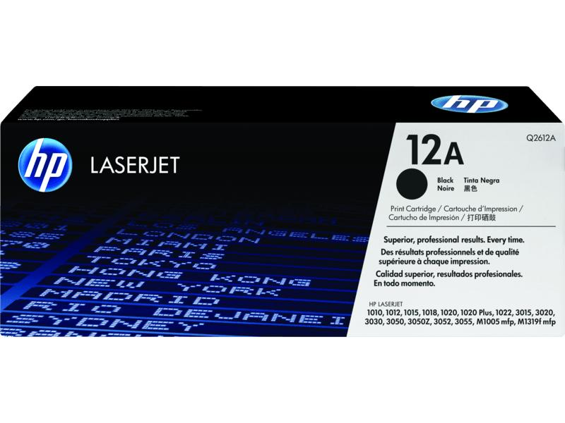 HP LJ 1000/3000 Series Black Crtg (Q2612A)