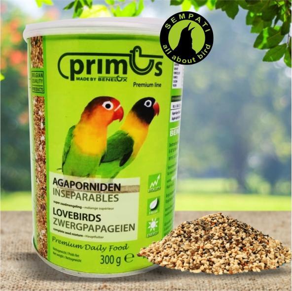 Pakan Burung Lovebird Primus Benelux