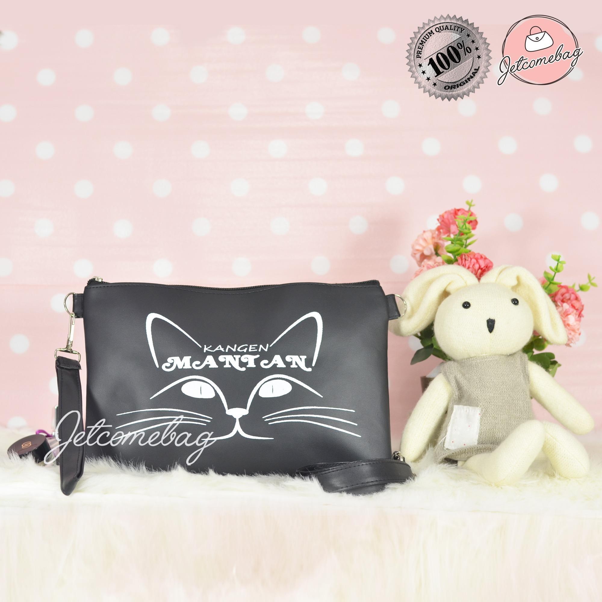Tas Wanita Termurah Clutch Bag Kangen Mantan JETCOMEBAG - Black Best Seller