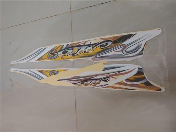 Stiker Bodi & Lis Body & Striping Mio Sporty 2010 Putih