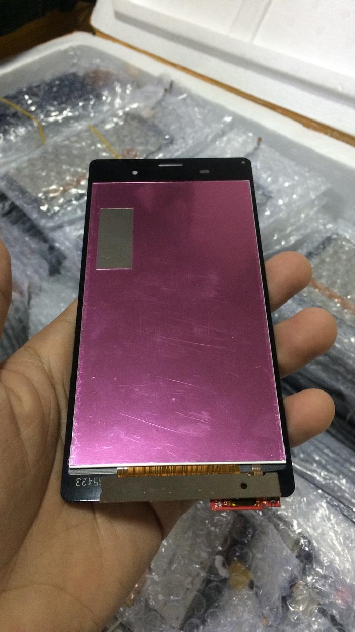Suku Cadang Handphone Sony Ts Monitor Touchscreen Led Putih Lcd Xperia Z3