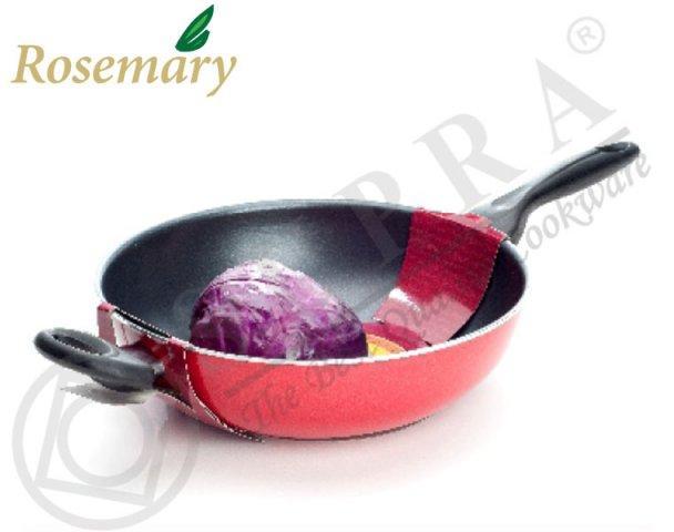 Wajan Teflon Stir Wok Supra Rosemary 30 cm