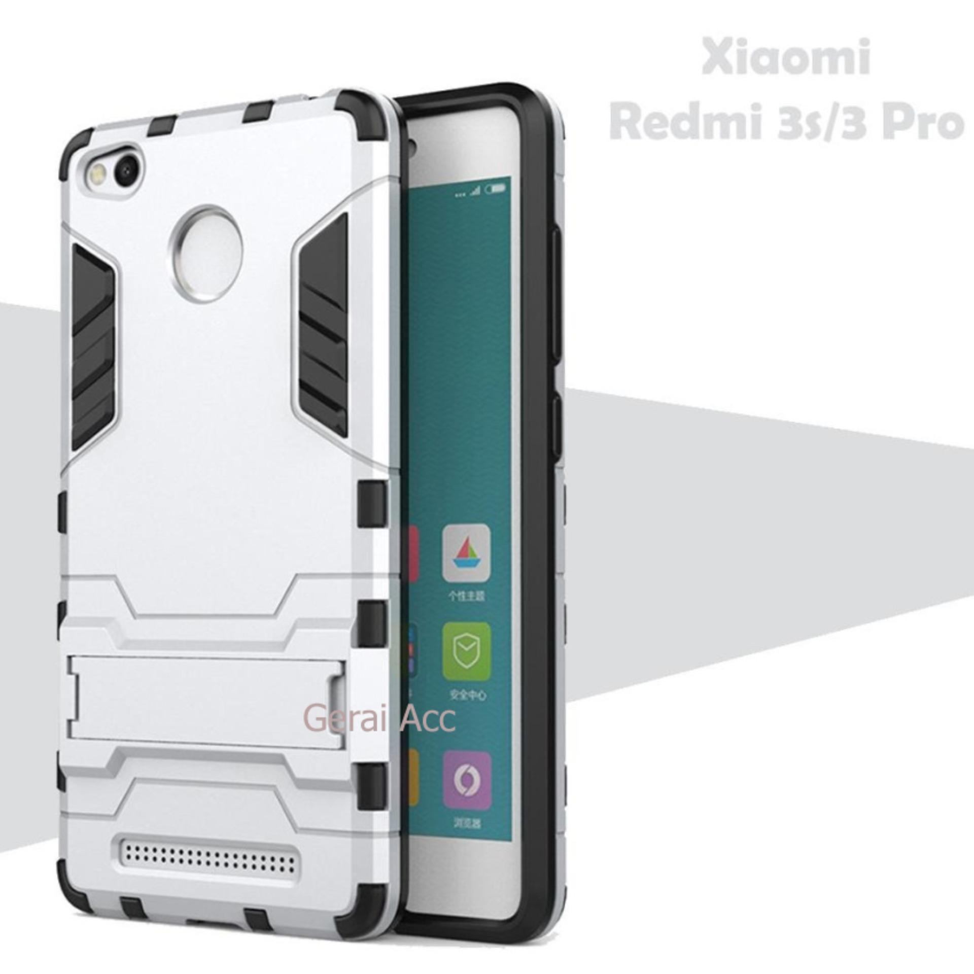 Case For Xiaomi Redmi 3s / 3 Pro / 3 Prime Iron Man Transformer Kickstand -