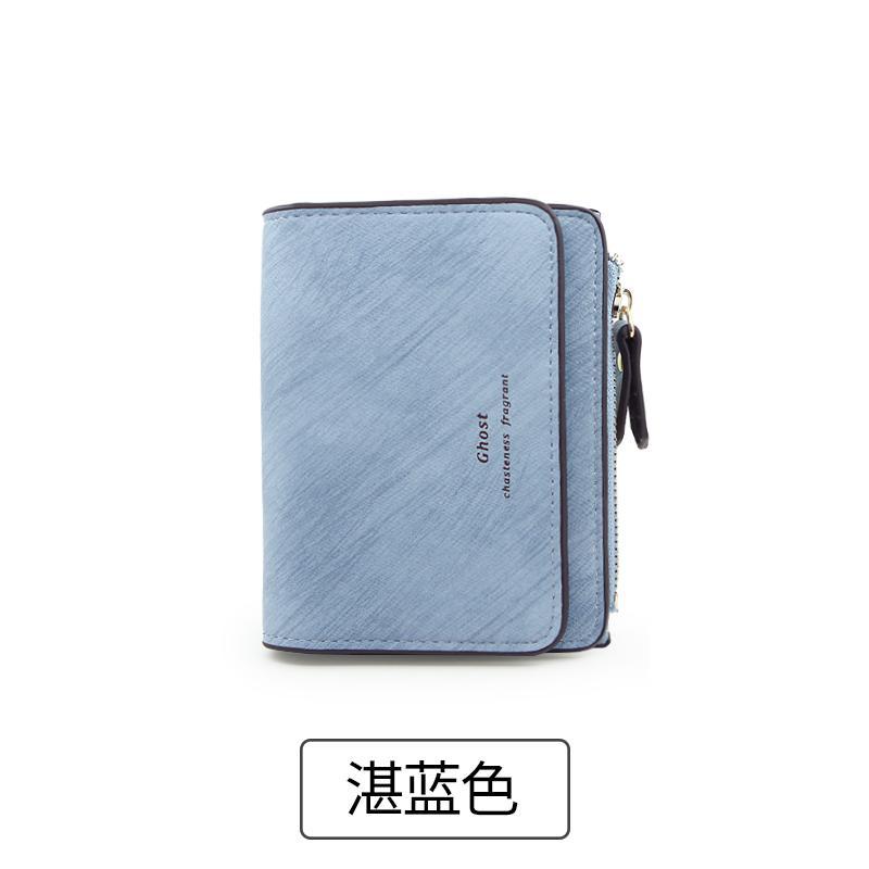 ... Multifungsi Ritsleting Dompet Source · Rinka Doll Dompet Kecil Wanita Dompet Korea Fashion Style Perempuan Baru Warna biru