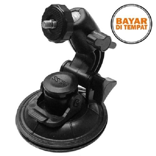 Rimas Car Window Suction Cup Tripod - Black / Hitam Pegangan Holder Tempat Kamera Camera Hp Handphone Berkualitas