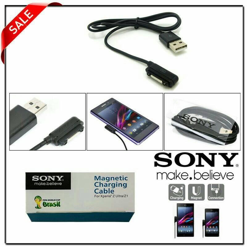 Sony Kabel Data Magnetik Original - Black