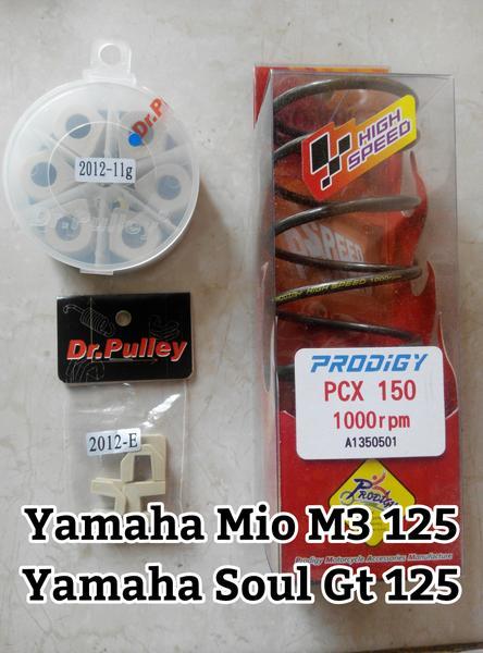 PROMO Paket Performa Drpulley-prodigy Yamaha Mio M3 125/soul Gt 125 TERBARU
