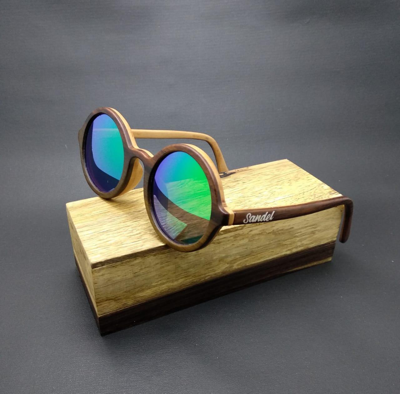 kacamata fasion pria wanita SANDEL new boboho lapis hijau