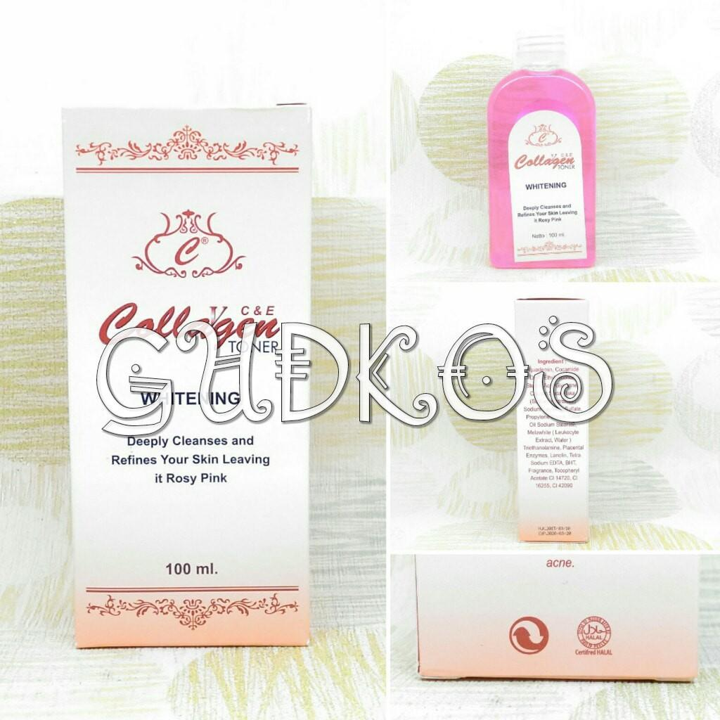 Buy Sell Cheapest Co E Toner Best Quality Product Deals Cream Collagen Plus Vit Siang Dan Malam Vite