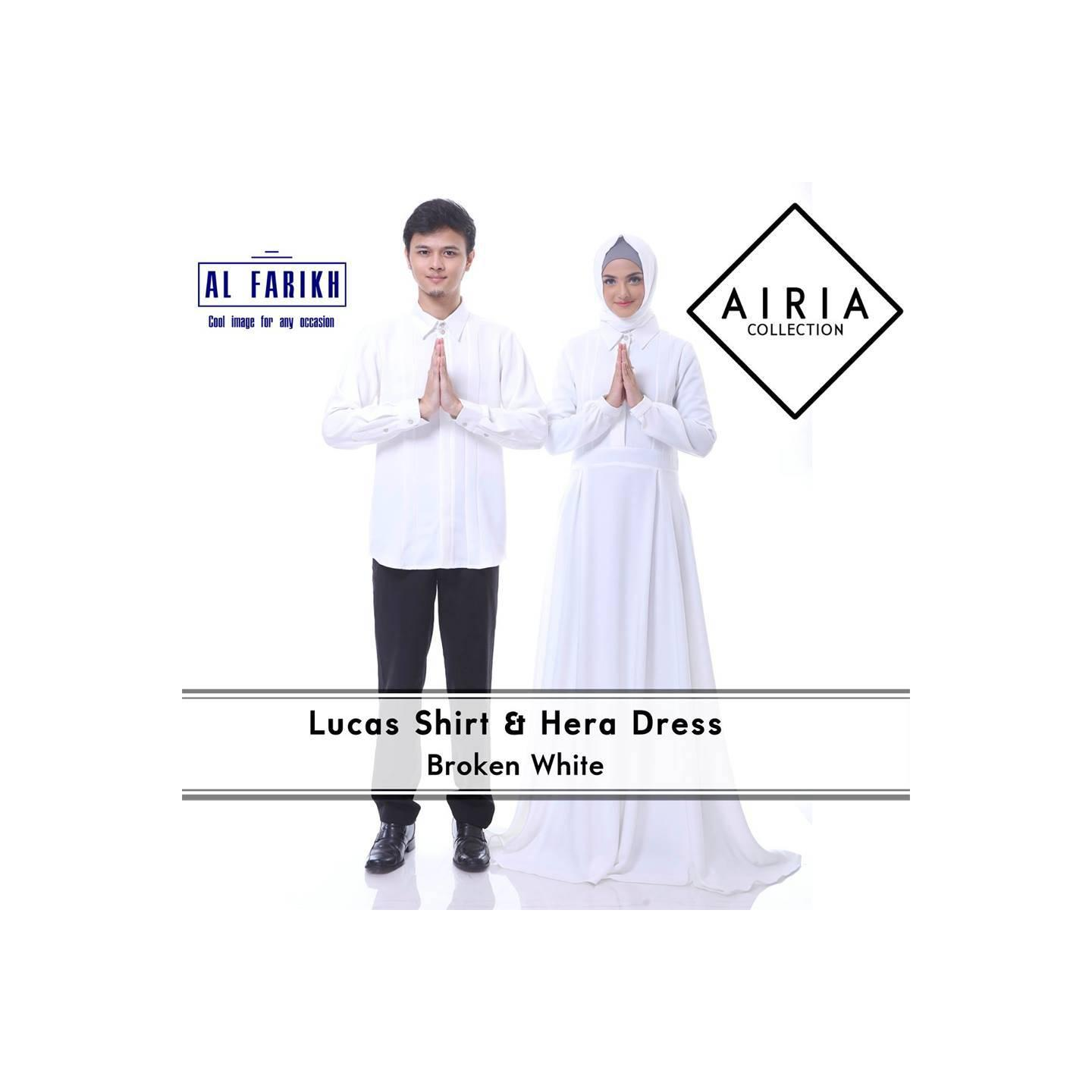 Rana Hera Dress/Gamis Pesta/Baju Muslim Couple