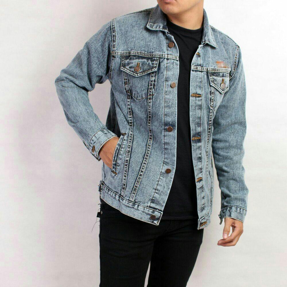 Dections Jaket Jeans Rompi Pria Gaul Bio Blitz Biru Muda Daftar Wash Muda2 Source Denim