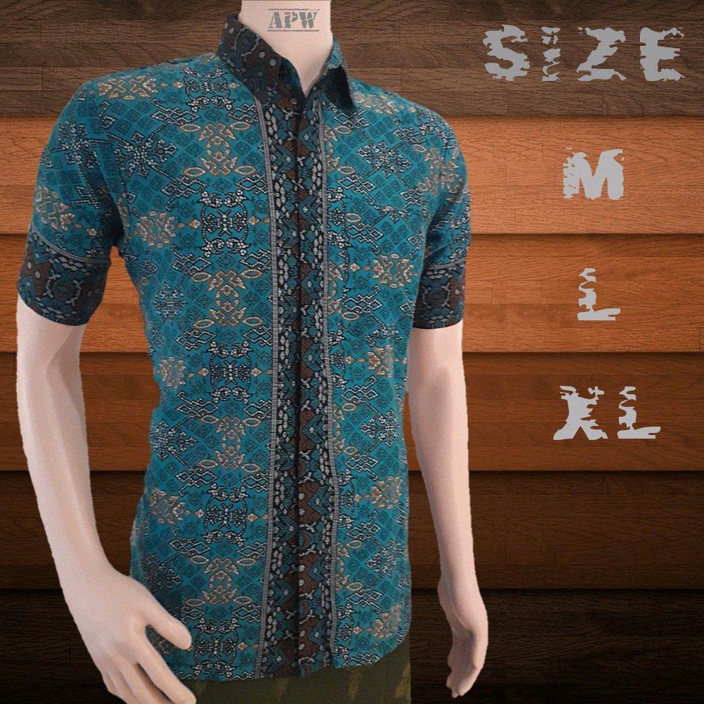Baju batik cwo - baju batik pria - hem batik cowok di lapak Batik APW _ pekalongan anggie_pw