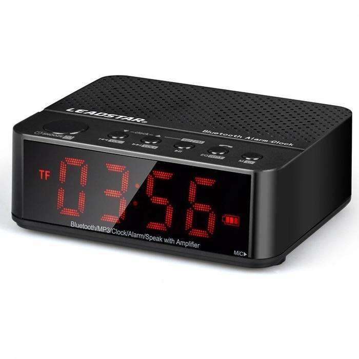 Referensi Speaker Aktif Promo Murah Desktop Spiker Bluetooth Speaker Jam Alarm Clock Unik