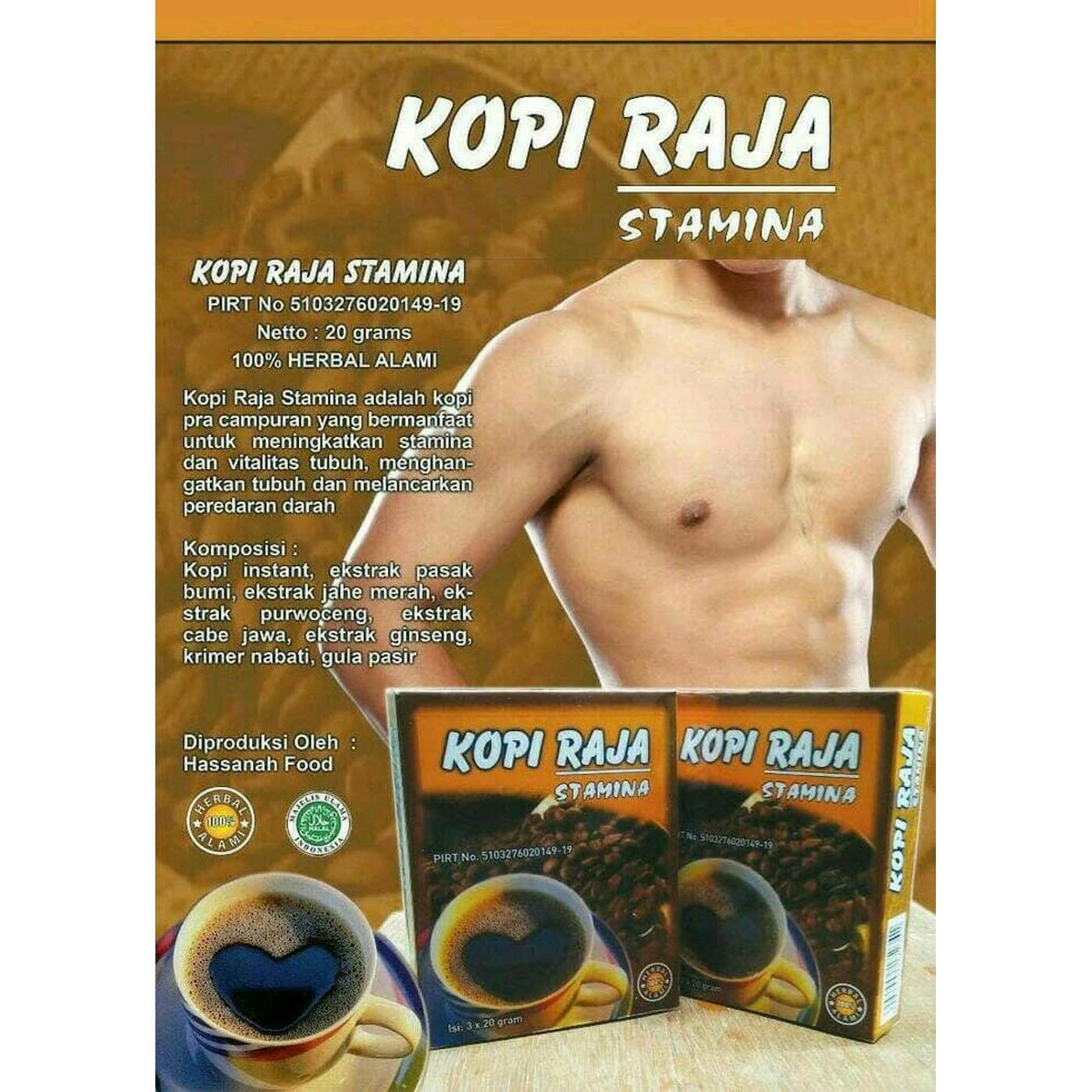 Herbulgari Teh Herbal Alami Untuk Stamina Dan Peredaran Darah Yang Bagus Kesehatan Original Kopi Raja Isi 3 Saset