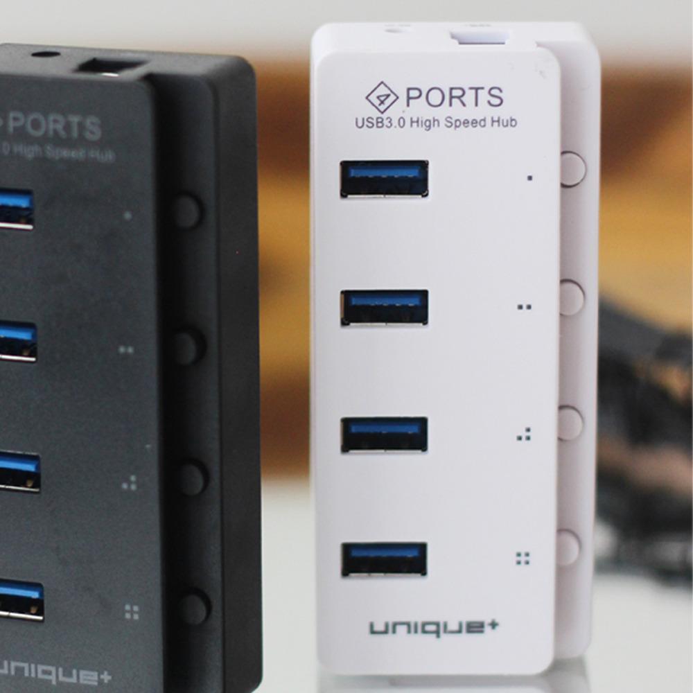 Unique Usb Hub 4 Port 3.0 High Speed Transfer Data Untuk Komputer Laptop Pc P-1713 Putih By Uniquestore Usb.