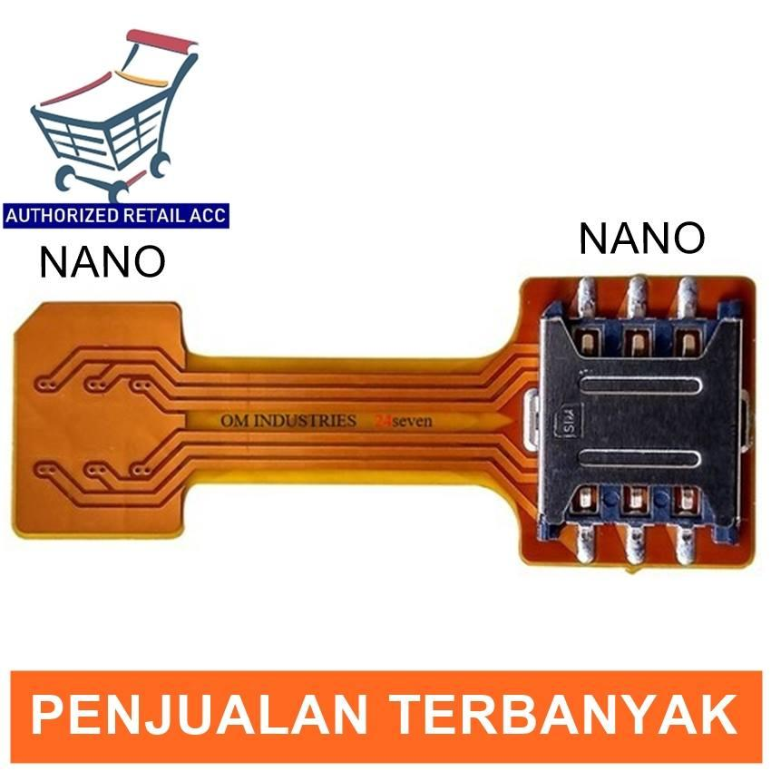 adapter dual Sim Card Nano to nano sim hybrid kabel flexible extender