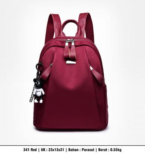 HOT RANSEL FASHION KOREA STYLE MODEL TERBARU+BEST SELLER T341 (3 WARNA) TAS IMPORT BATAM MURAH MERIAH