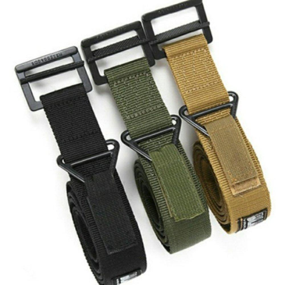 YUMA YOUNG - sabuk Ikat Pinggang BLACKHAWK Tactical Belt   Gesper Airsoft