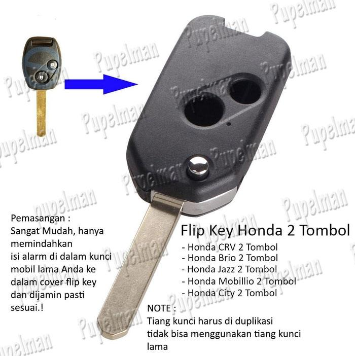 2 tombol Aksesoris JAZZ CRV BRIO CITY CIVIC FREED MOBILIO Flipkey Honda Cover casing Kunci Remot Remote silicon silikon sarung Duplikat kunci Sarung Pelindung Kunci Remote Remot Silikon Silicon Karet Asesoris Acsesoris Honda