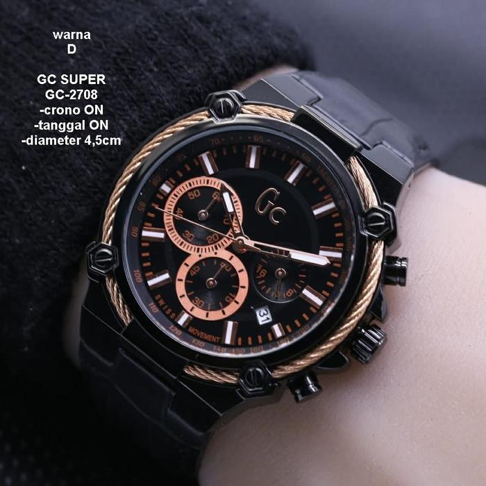 SW99 Jam Tangan Pria Gucci New Model GC2708