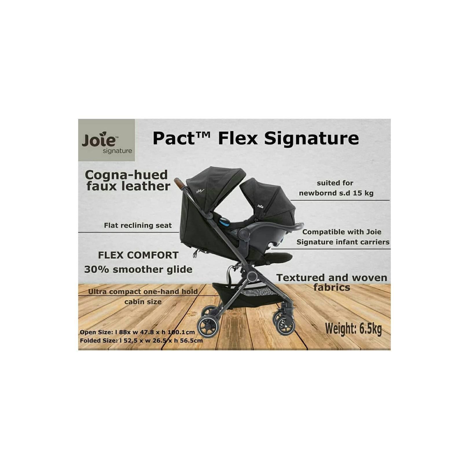 Joie Pact Flex Signature *STROLLER ONLY I-Gemm dijual TERPISAH