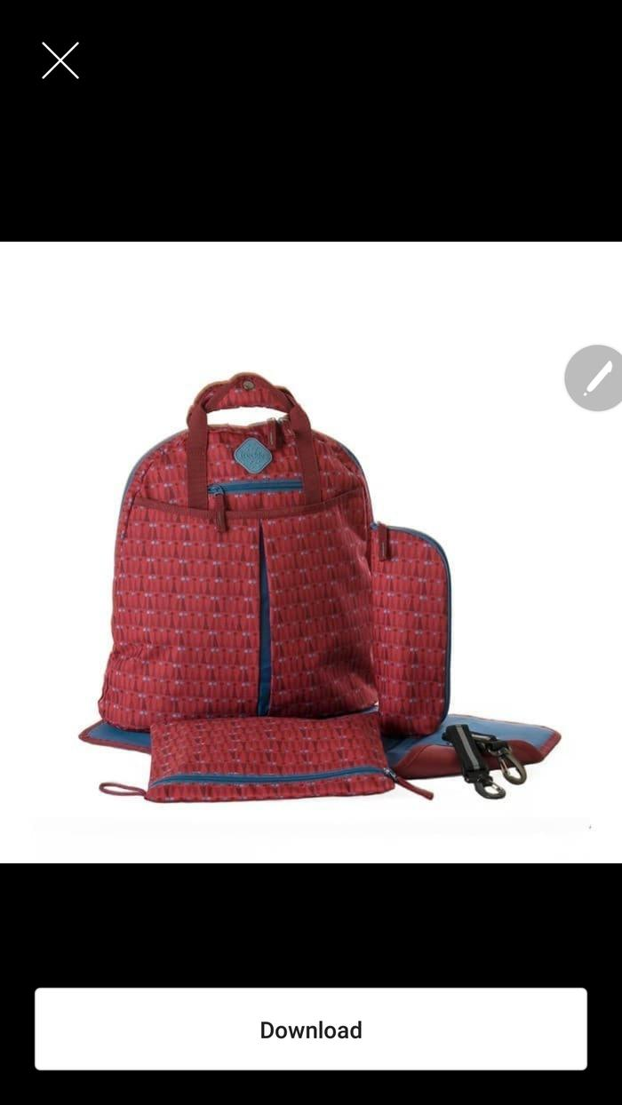 Buy Sell Cheapest Tas Okiedog Best Quality Product Deals Flower Power Cupid Freckless Backpack Triangle Red Perlengkapan Bayi
